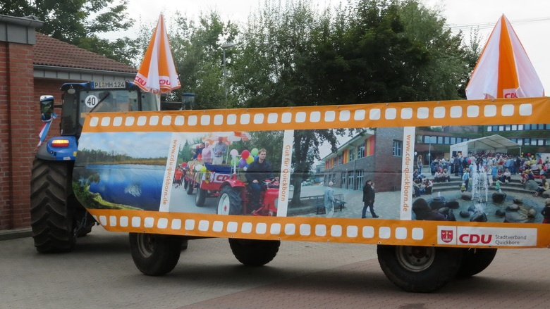 Der CDU-Wagen